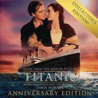 鐵達尼號 3D 電影原聲帶 - 行家珍藏版 (Titanic:Collector\'s Anniversary Edition - O.S.T. )